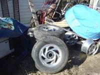 set of 4 wheel's and tire's off a 96 s/10 blazer,