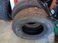 I have 1 235 85 16 truck tire and 1 265 70 16 truck