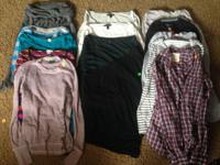 I have over 235 pieces of mens and womens clothing.