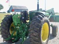 2355 John Deere Tractor with 146 JD QA Loader with