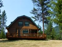 LOCATED IN PRIME WILDLIFE COUNTRY - THIS LOG HOME HAS