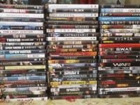 I HAVE A TOTAL OF 238 DVD'S, ALL IN GREAT CONDITION IN