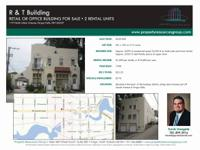 Retail/office structure for sale in the heart of