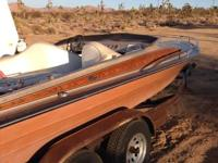 Charger jet boat The finish is a heavy metallic 2 toned