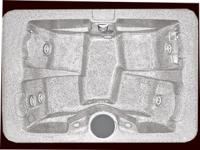 Series 200 hot tub-Seats 4 with bucket style