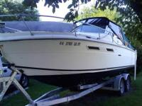 Basic Decription: 24ft Sea ray weekender starting to