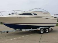Please call owner Ted at . Boat is in Sioux City, Iowa.