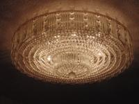 "24"" 2 Tier Austrian Crystal Foyer Chandelier. Moving"