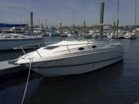 Powered by a solid running Mercruiser with 280hp and