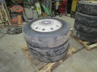 I have 3 aluminum 10 bolt aluminum 24.5 rims with