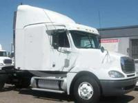 2006 Freightliner Columbia single axle sleeper tractor.