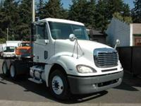 2003 Freightliner Columbia tandem axle day cab tractor.
