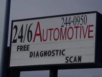 24/6 Automotive is now open on the corner of Oak and