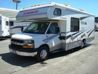 This 2007 24' Tioga Class C Motor Home by Fleetwood