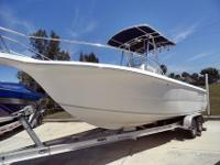 2003 Sea Fox 237 Center Console, clean, lightly used,
