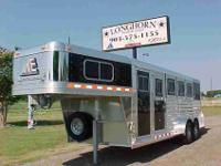 Longhorn Trailer Sales, LLC. THIS TRAILER IS ON DISPLAY