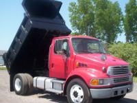 THIS IS A SINGLE AXLE 2006 STERLING ACTERRA DUMP TRUCK