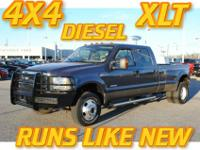 2007 Ford F350 4x4 Super Crew Dually XLT When you look