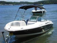 Like new 2008 Searay 205 Sport. This boat is loaded