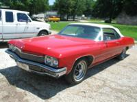 I have a 99% restored 1972 Buick Centurion Convertible.