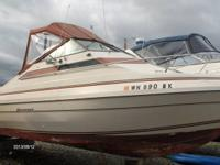 Nice, solid, well kept 25' Saratoga. newer canvas w/