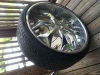 "24"" BENTCHI Rims with New Tires Great Deal, for more"