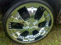 Rims and tires in great shape. Paid over $2500 Rims are
