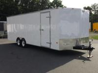 8.5 x 24' Enclosed Trailer.