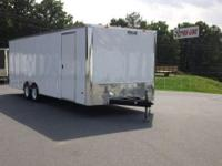 8.5 x 24' Enclosed Trailer. $4999.99 in VA . White
