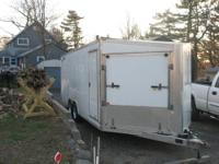 24 Foot enclosed car trailer.Inside dimentions:24 feet