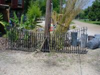 24 foot Driveway Estate style Iron Gate, Heavy Duty