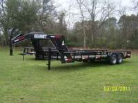2011 Kearney G/N Lowboy trailer with tow 7000 pound