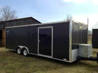 "24 ft. Vintage Race Car Trailer, 102"" wide, 4 new"