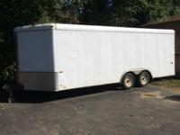 Enclosed, tandem axel, interstate 1 trailer in good