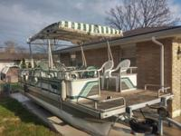 Pontoon Boat:1988 Lowe Sunbird 24 foot. Never had