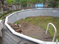 Pool is down and ready to pick up. Everything is in