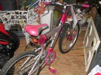 "24"" GIRLS LOVE POTION BICYCLE GREAT CONDITION. ROAD"