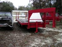 I have for sell a 24' gooseneck 3 axle trailer that I