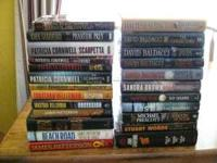 24 hardcover Books For Sale Best Selling Authors, Most