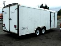 1994 24' Haulmark Enclosed Trailer with beautiful front