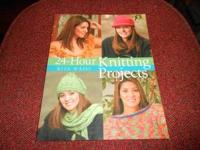 24-HOUR KNITTING PROJECTS BY RITA WEISS. WILL SELL THIS
