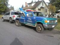 We run flat rates  on towing of 2 wheel drive cars and