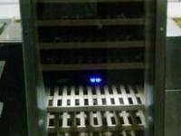 Brand New Dual zone 160 Bottle Wine Cellar With Glass