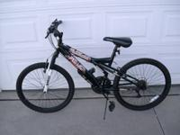 "24"" Pacific Evolution Mountain Bike. 18 speed fresh"