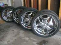 sellin 24in rims for 1500 or OBO. they came of from a