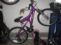 24 inch Girls mongosse mountain bike very good shape