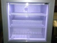 "Brand New 24"" Commercial Glass Door Upright Freezer"