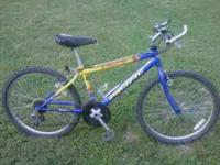 im selling a good condition mountain bike normal wear