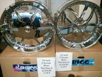 I have a brand new set of 24 inch Bigg Style rims for