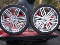 i got a very clean set of 24 inch giavonna wheels for